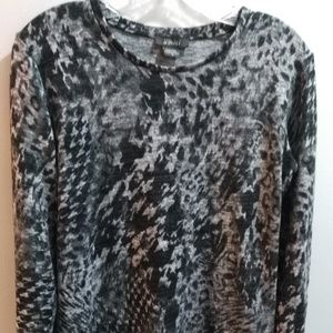 Pure Amici Oh-So-Soft Knit Top - Sz S